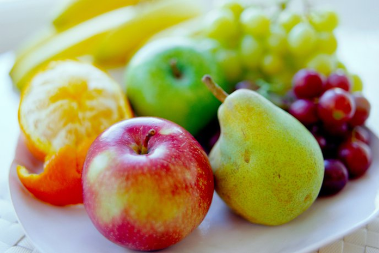 Some fruits.