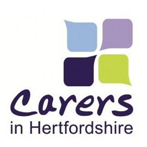 Logo for Carers in Hertfordshire.