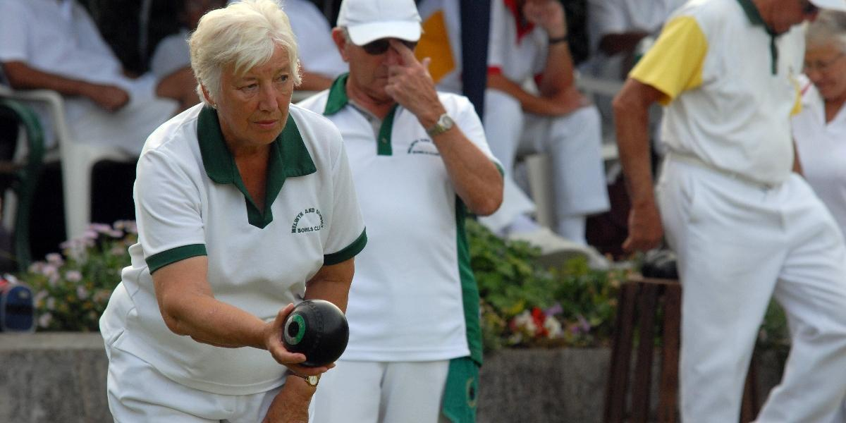 Image of bowls being played in Welwyn Hatfield