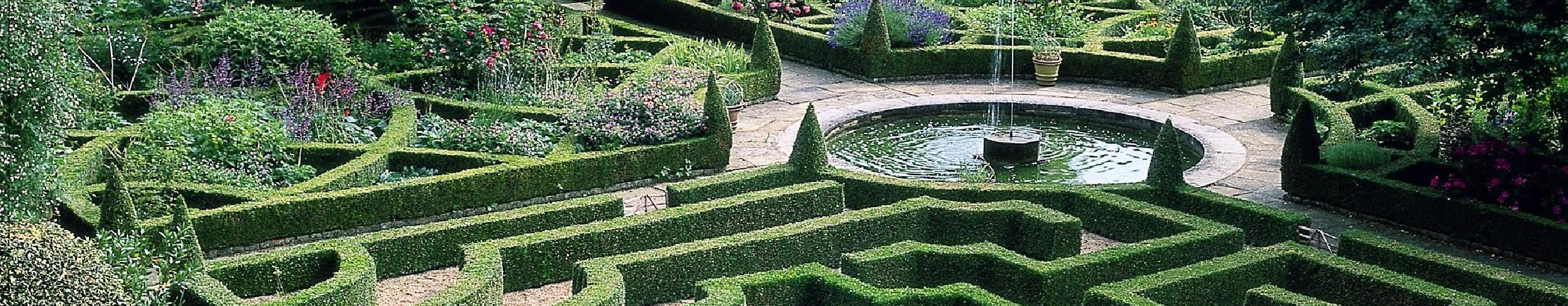 the Knot Garden at Hatfield House