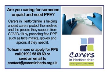 Free PPE poster