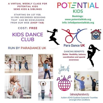 Potential kids activities and events