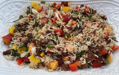 An image relating to Crunchy Rice Salad